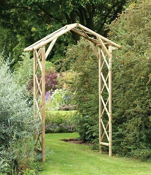 wooden garden arches garden arches homey idea wooden