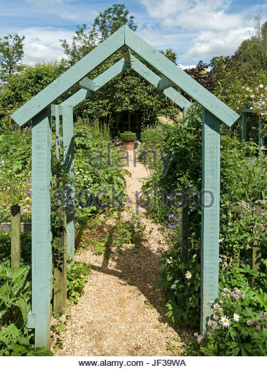 wooden garden arches green painted wooden arch arbour