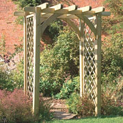 wooden garden arches ultima pergola arch with trellis