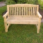 wooden garden benches image is loading athol-chunky-4-foot-wooden-garden-bench-brand- OAZXRGK