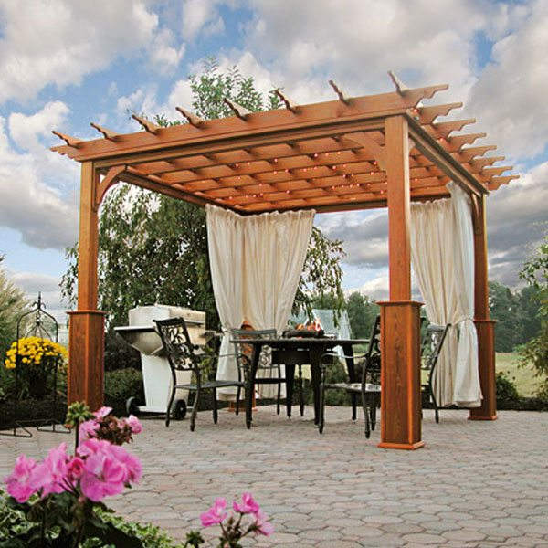 wooden pergola 10 x 10 traditional wood pergola NMMOBET