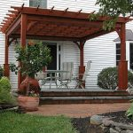 wooden pergola 12 x 12 traditional wood pergola