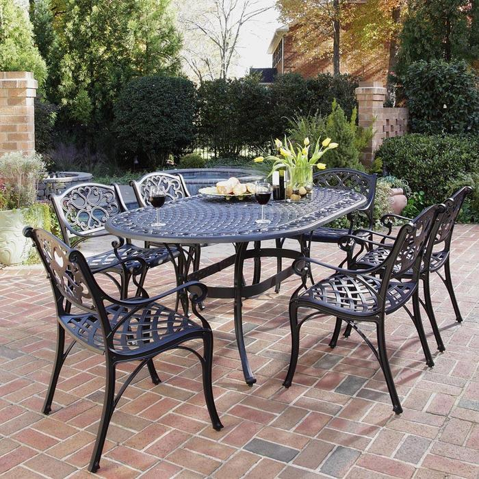 wrought iron patio furniture iron patio table EBSPMPG
