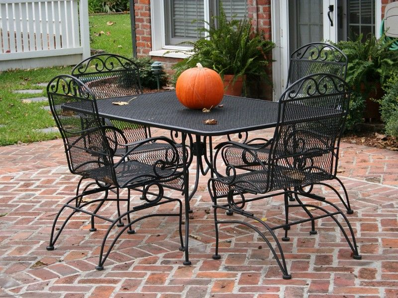 wrought iron patio furniture lowes YOIPLTH