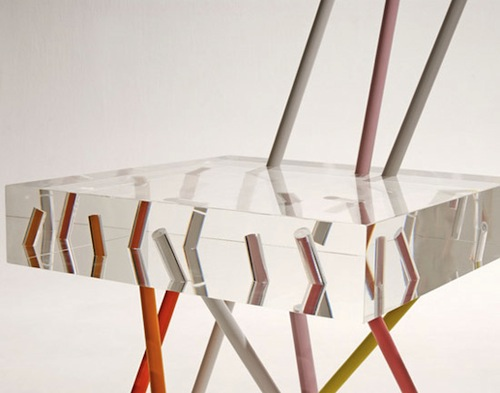 Acrylic Furniture by Emmanuelle Moureaux - Design Milk