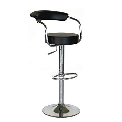 Amazon.com: Modern Contemporary Adjustable Bar Stools, Set of 2