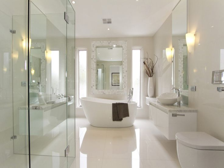 35 Best Modern Bathroom Design Ideas | masterbath | Badrum, Hus, Hem