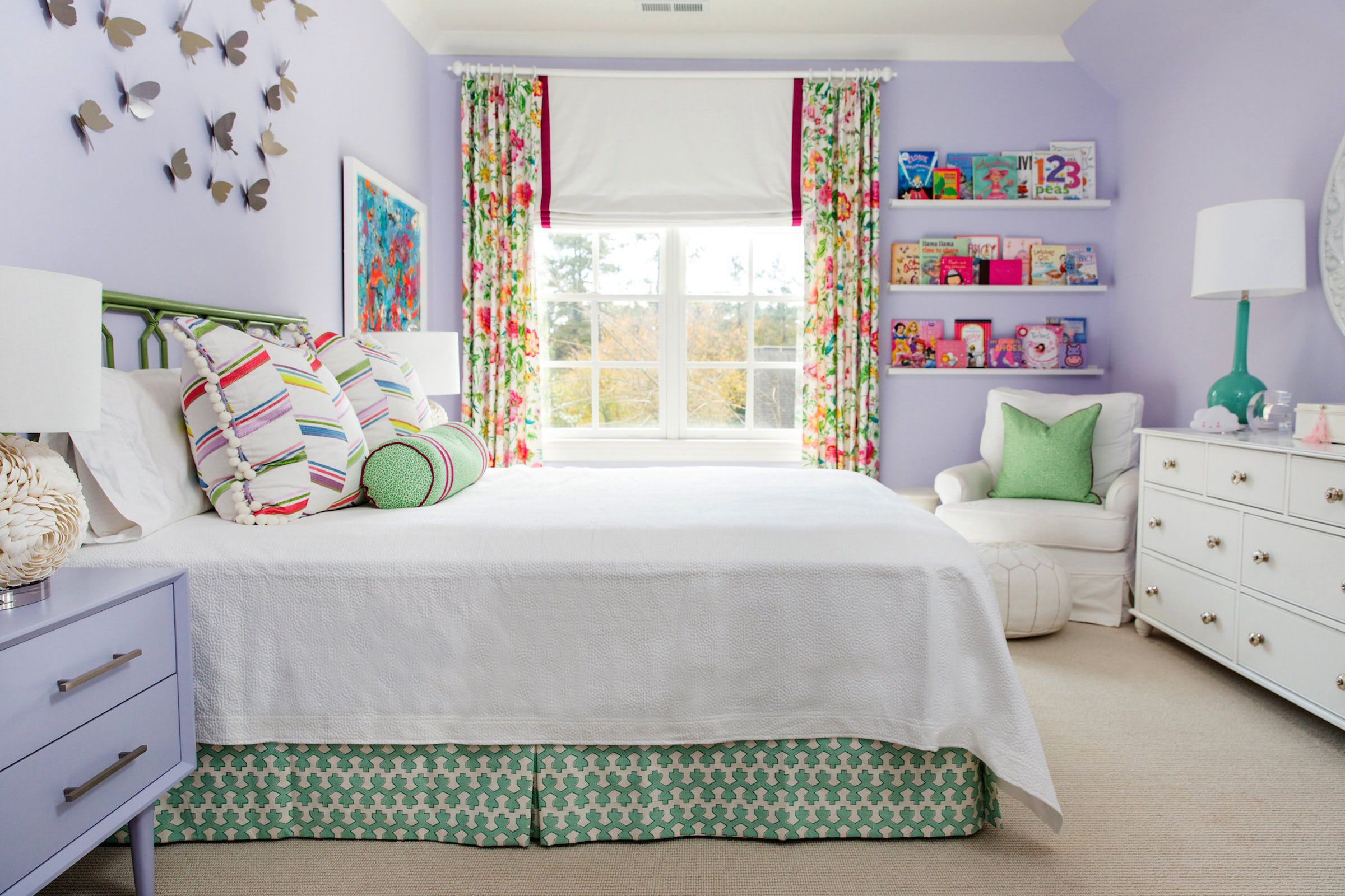 15 Creative Girls Room Ideas - How to Decorate a Girl's Bedroom