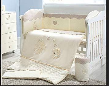 Amazon.com : 100% Organic Cotton 3 piece Baby Nursery Crib Bedding