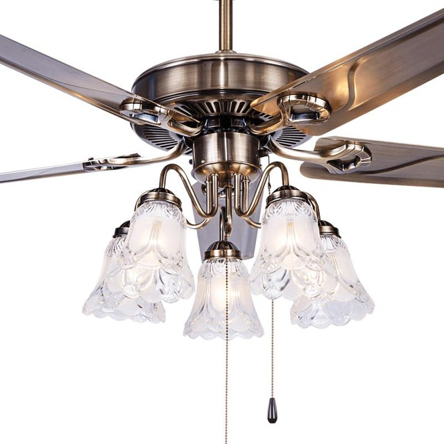 A1 Fan ceiling fan light restaurant living room bedroom minimalist