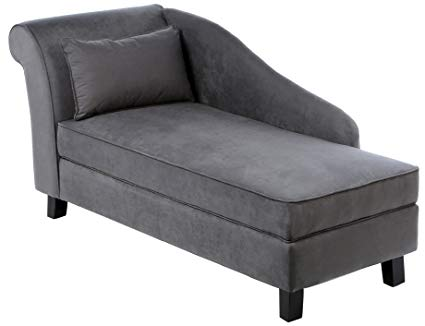 Amazon.com: Castleton Home Storage Chaise Lounge Modern Long Chair