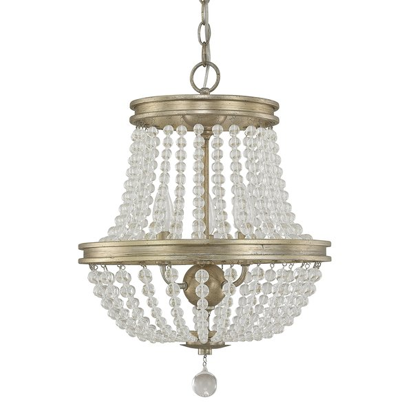 Papadopoulos 3-Light Empire Chandelier & Reviews | Joss & Main