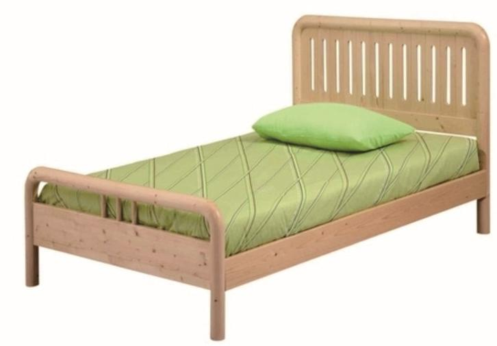 C016 flagship store children's furniture wood pine single bed child
