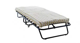 Amazon.com: Home Source Industries, 228 Cot Bed, Folding Bed with 4