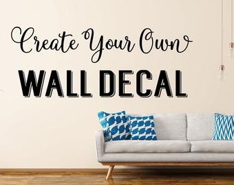 Wall decals | Etsy
