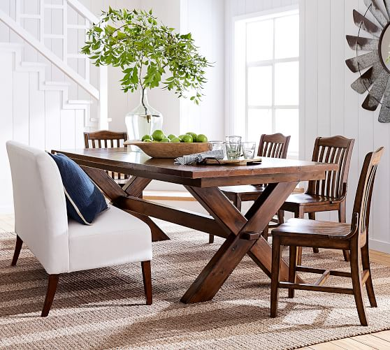 Toscana Dining Table, Tuscan Chestnut | Pottery Barn
