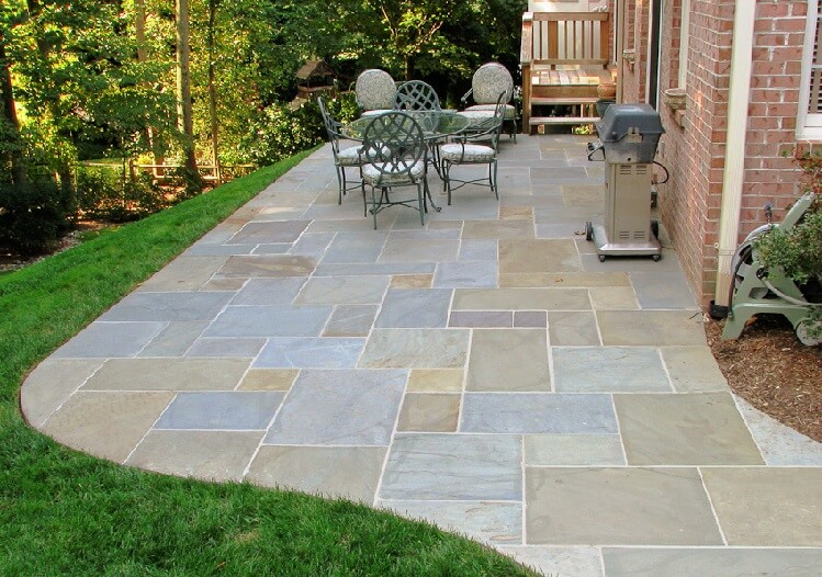 Flagstone patio ideas - Gardening flowers 101-Gardening flowers 101