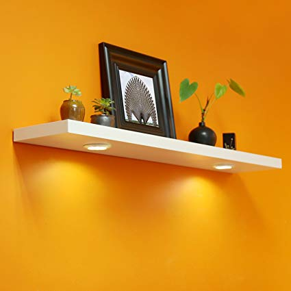Amazon.com: WELLAND 48 Inch Floating Shelf with Touch-Sensing