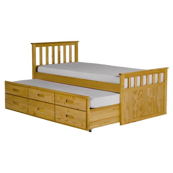 All Home Pajama Guest Bed with Trundle & Reviews | Wayfair.co.uk