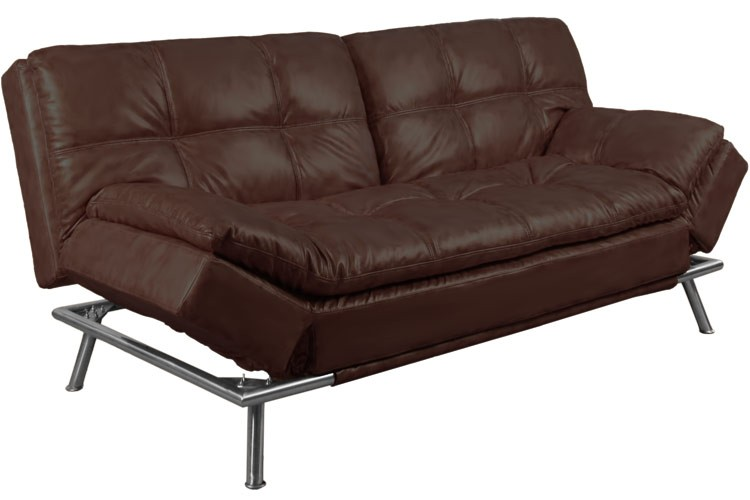 Best Convertible Futon Sofabed Sleeper |Matrix Brown | The Futon Shop