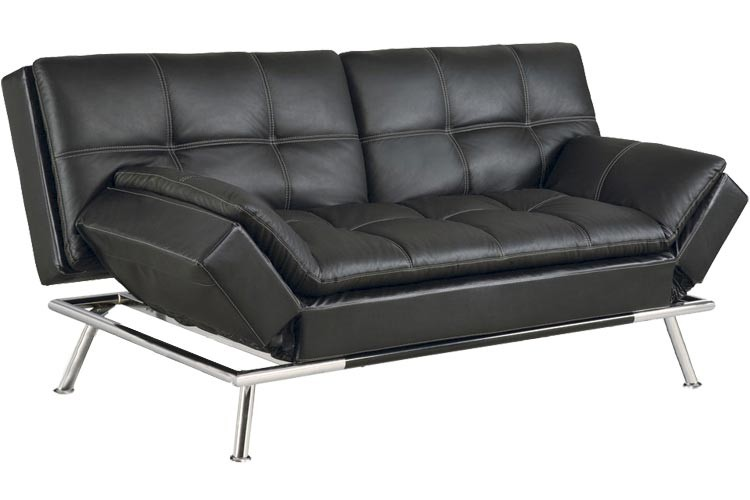 Best Futon Couch | Matrix Convertible Futon Sofa Bed Sleeper Black