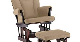 Amazon.com: Shermag Stanton Transitional Style Glider Rocker and