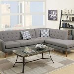 The super gray sectional sofa