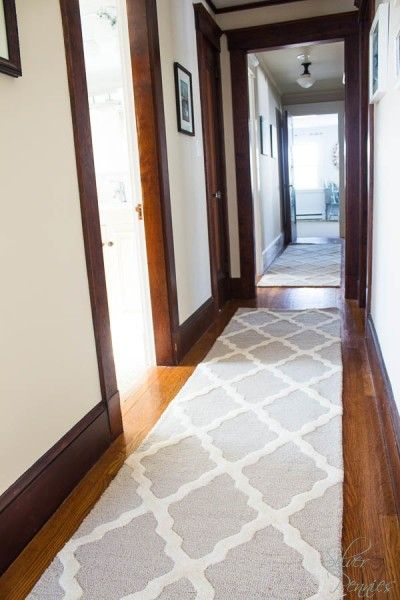 New Rugs in the Hall | My Home | Hallway carpet, Hallway rug, Hall