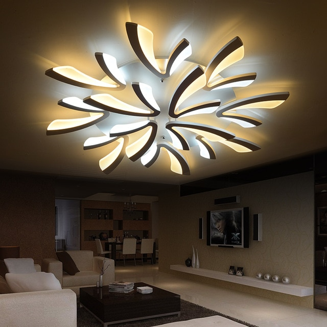Modern Dimmable LED Living Room Ceiling Light Large Ceiling LED