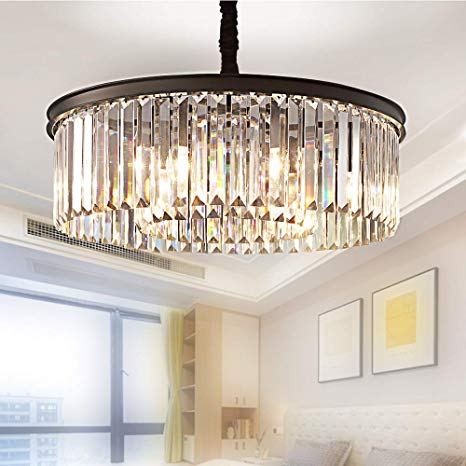 Amazon.com: Meelighting Crystal Chandeliers Modern Contemporary