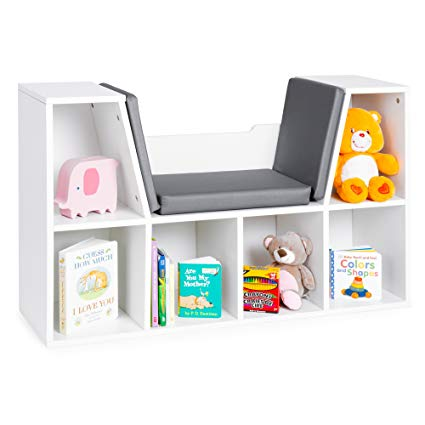 Amazon.com: Best Choice Products Multi-Purpose 6-Cubby Kids Bedroom