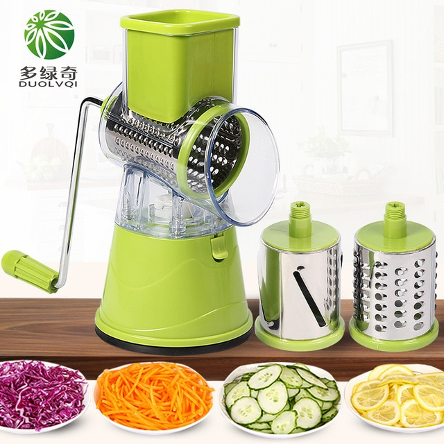 DUOLVQI Manual Vegetable Cutter Slicer Kitchen Accessories
