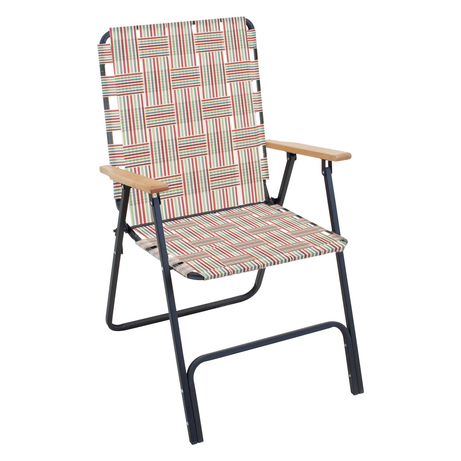 Rio Brands Rio Folding Highback Web Lawn Chair - Walmart.com