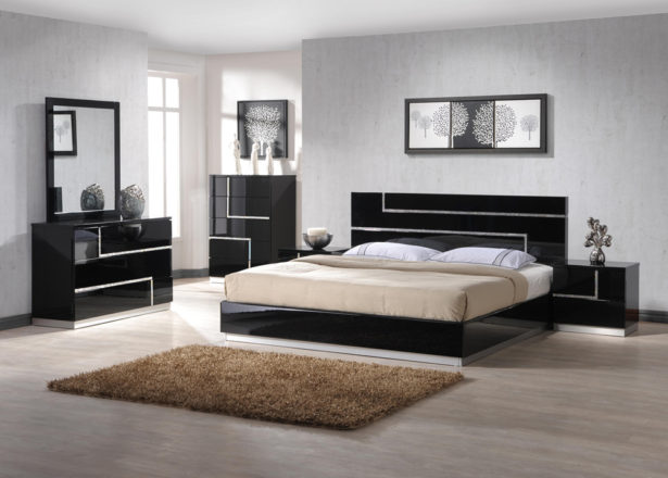 Bedroom High End Bedroom Sets Modern Black Bedroom Set Traditional
