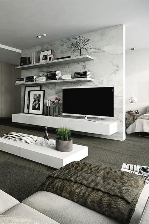 21 Modern Living Room Decorating Ideas | boom | Living room decor