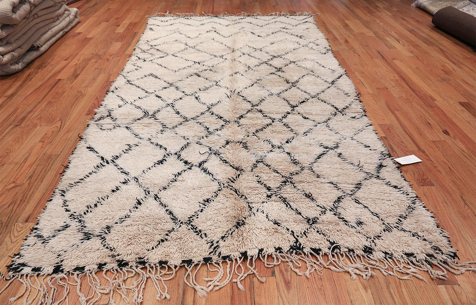 Room Size Vintage Moroccan Rug For Sale at 1stdibs