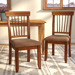 Dark Oak Dining Chairs | Wayfair