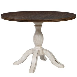 48 Round Pedestal Dining Table | Wayfair