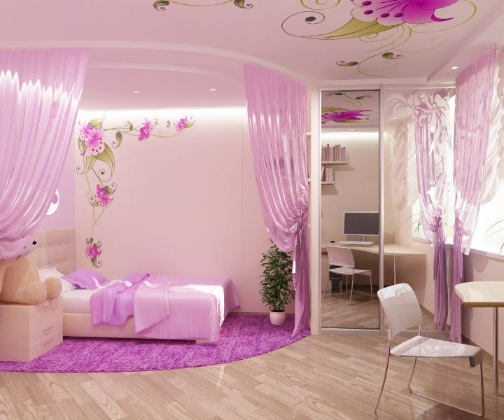 Princess bedroom ideas can be useful inspirations for you who are