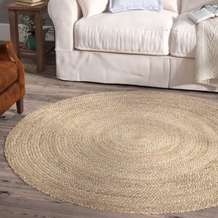 5 Ft Round Jute Rug | Wayfair