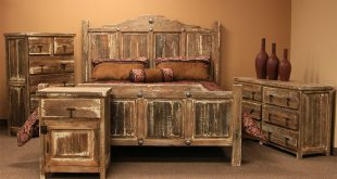 LMT | Minimized White Wash Rustic Bedroom Set | Dallas Designer