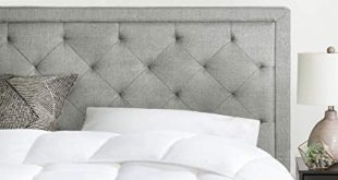 Amazon.com - Brookside Upholstered Headboard with Diamond Tufting