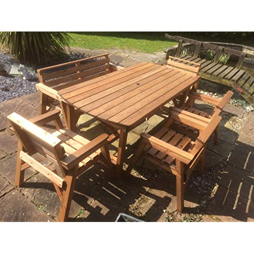 Wood Garden Furniture: Amazon.co.uk