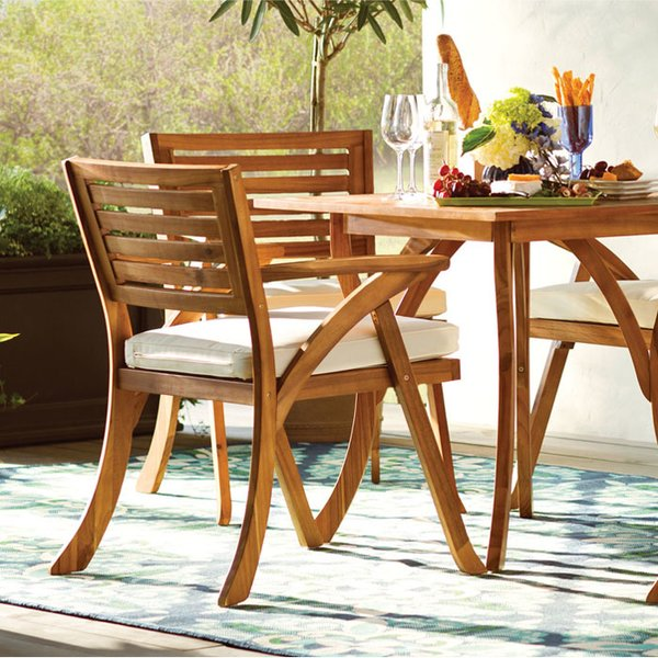Wood Patio Furniture You'll Love | Wayfair