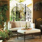 Wrought iron furniture indoor   for style