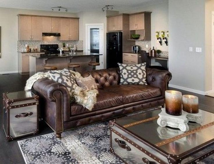 Admirable Leather Sofa For Living Room