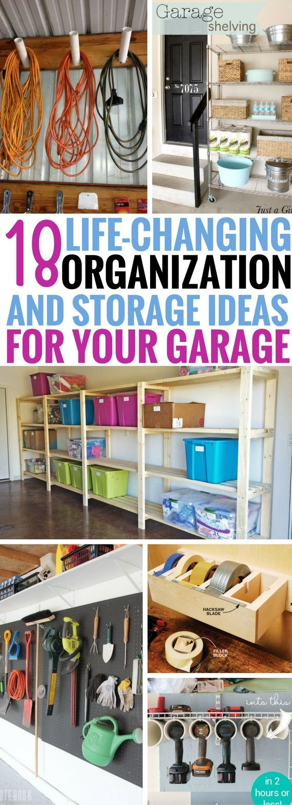 18 Life Changing Garage Organization And Storage Ideas