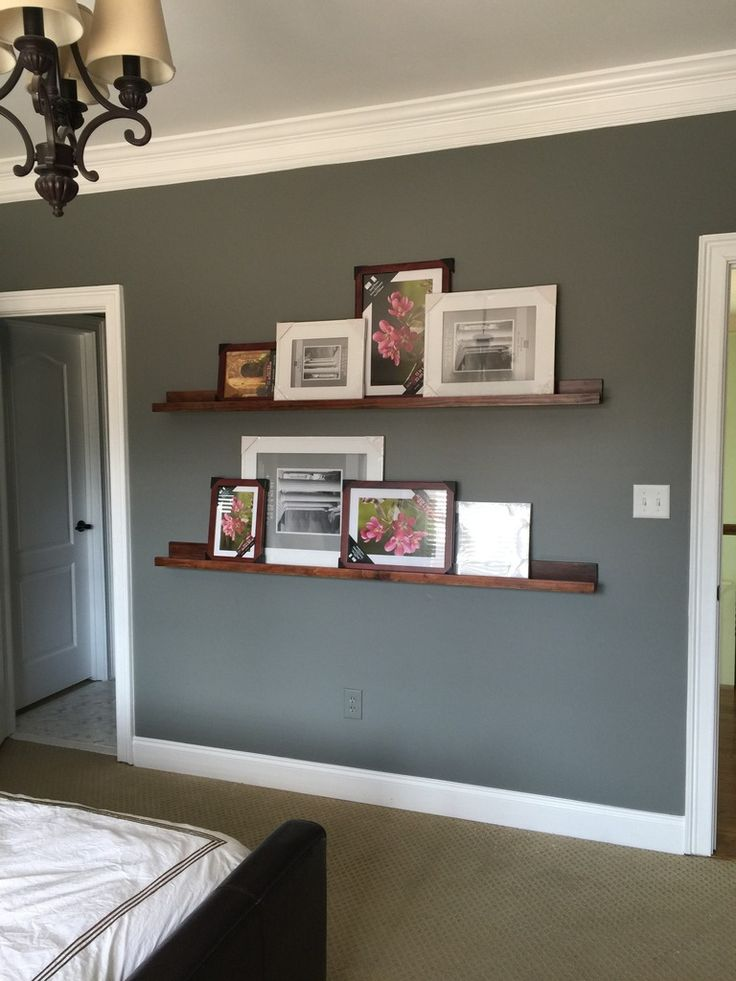 How To Build Pottery Barn Style Photo Shelves