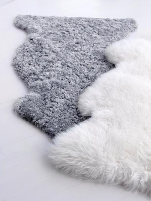 LUDDE Sheepskin Off-white