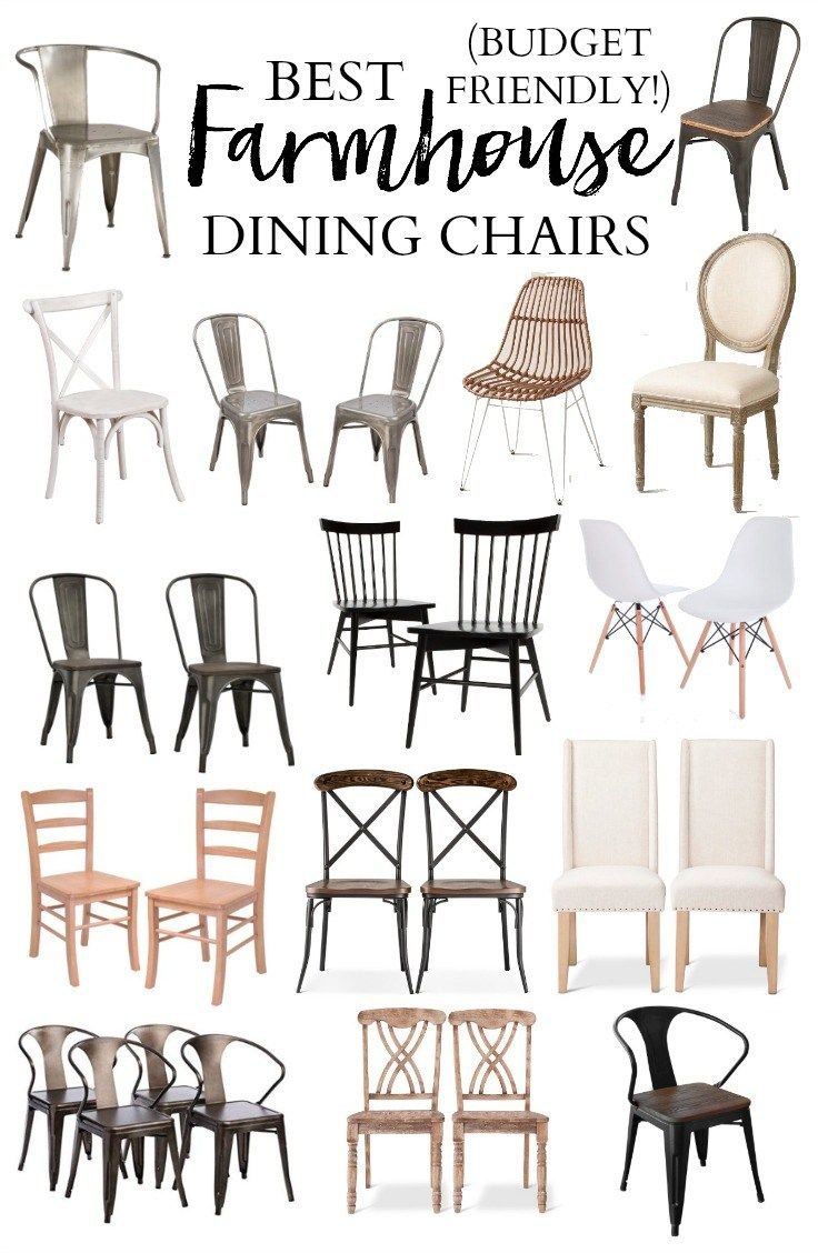 Home // The Best Farmhouse Dining Chairs